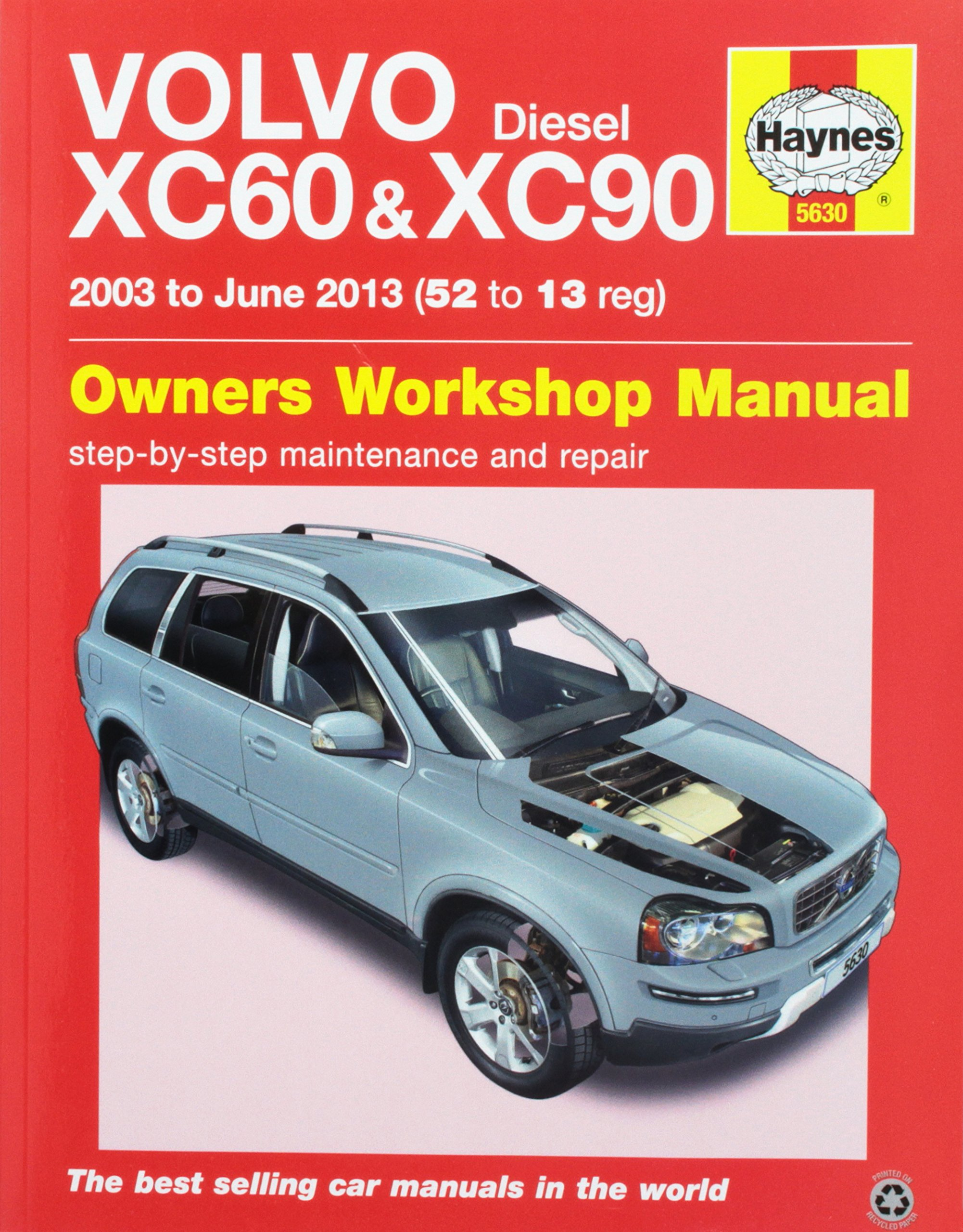volvo diesel xc60 and xc90 owners workshop manual 2003 to june 2013 rh amazon com 2012 volvo xc90 owners manual uk 2012 volvo xc90 owners manual uk