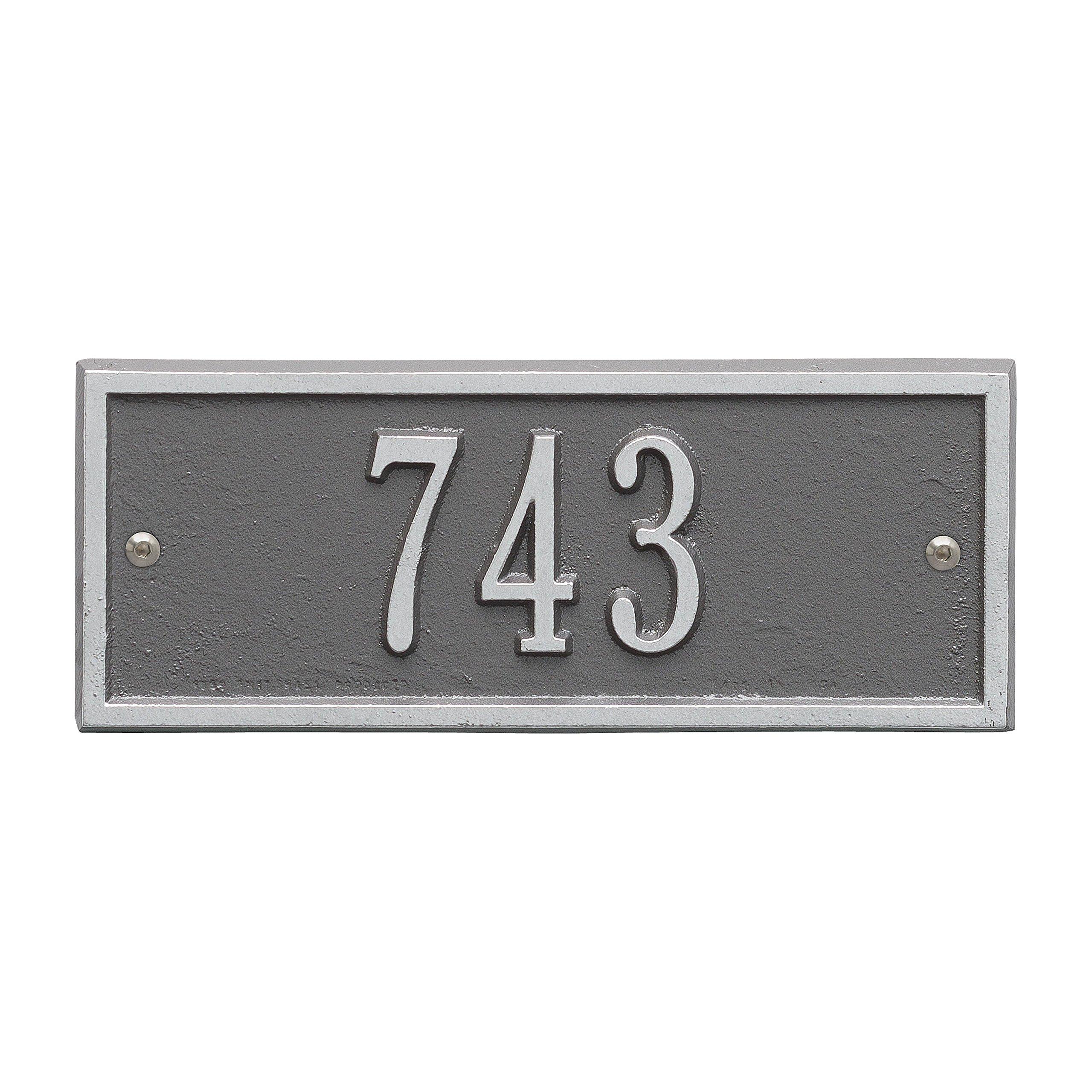 Hartford Address Plaque 9''Lx4''H (Personalize 1 Line)