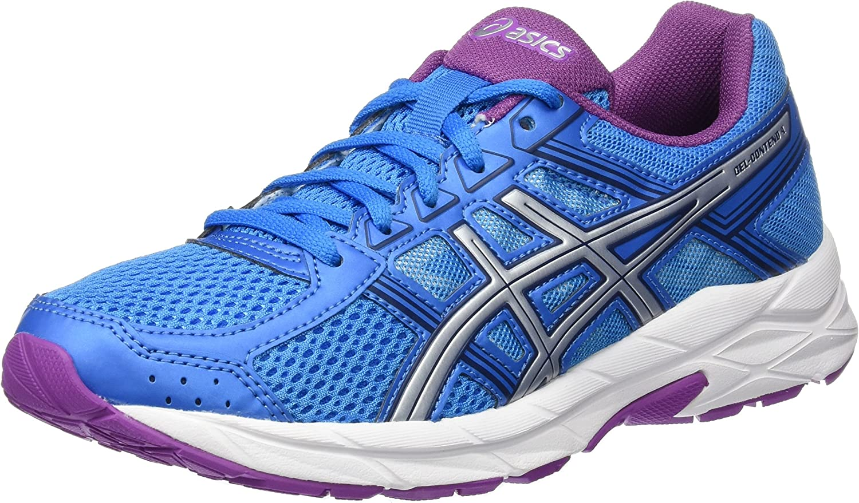 Asics Gel-Contend 4, Zapatillas de Running Mujer, Azul (Diva Blue/Silver/Orchid), 39.5 EU: Amazon.es: Zapatos y complementos