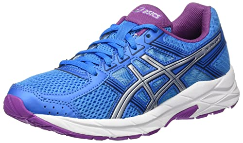 Asics Women's Gel-Contend 4 Competition Running Shoes, Blue (Diva Blue/ Silver