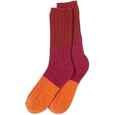 Life is Good Women's Chenille Tricolor Socks