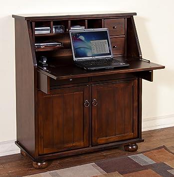 sunny designs santa fe drop leaf laptop desk - Sunny Designs Desk