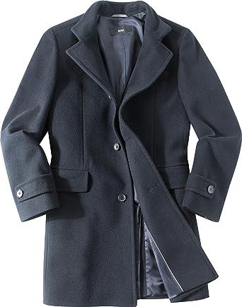 Hugo boss mantel blau herren
