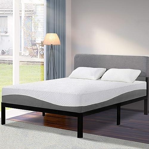 Olee Sleep 10 Inch Gel Layer Top Memory Foam Mattre