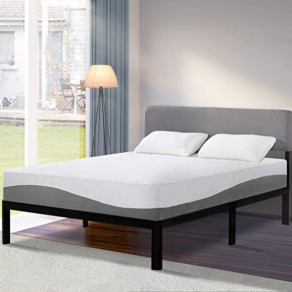 Olee Sleep 10 inch Aquarius Memory Foam Twin Mattress