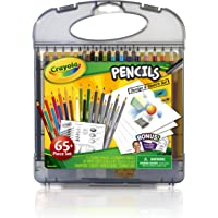 Crayola Colored Pencils Design & Sketch Set, Gift for Kids, 65 Pieces