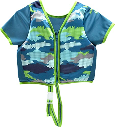 SwimSchool Swim Trainer Vest with Sun Protective Sleeves