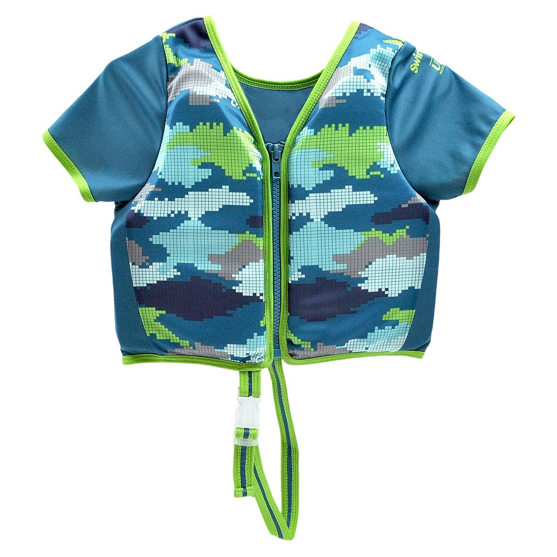 Aqua Leisure Boys Swim Training Vest with Sleeves, Medium/Large by Aqua Leisure