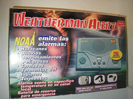 Amazon.com: NOAA Weatherman Alert: Electronics