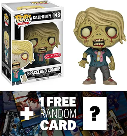 1 FREE Video Games Themed Trading Card Bundle x Call of Duty Vinyl Figure : Funko POP Spaceland Zombie Target Exclusive BCC9470E1 118552