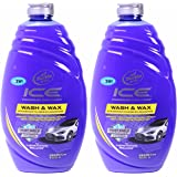 Turtle Wax Ice Premium Car Care, Wash and Wax, 40 Ounce, (Pack of 2)