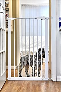 Callowesse Extra Tall Pet Gate 75 82cm X 110cm (Extendable Up To 96cm)