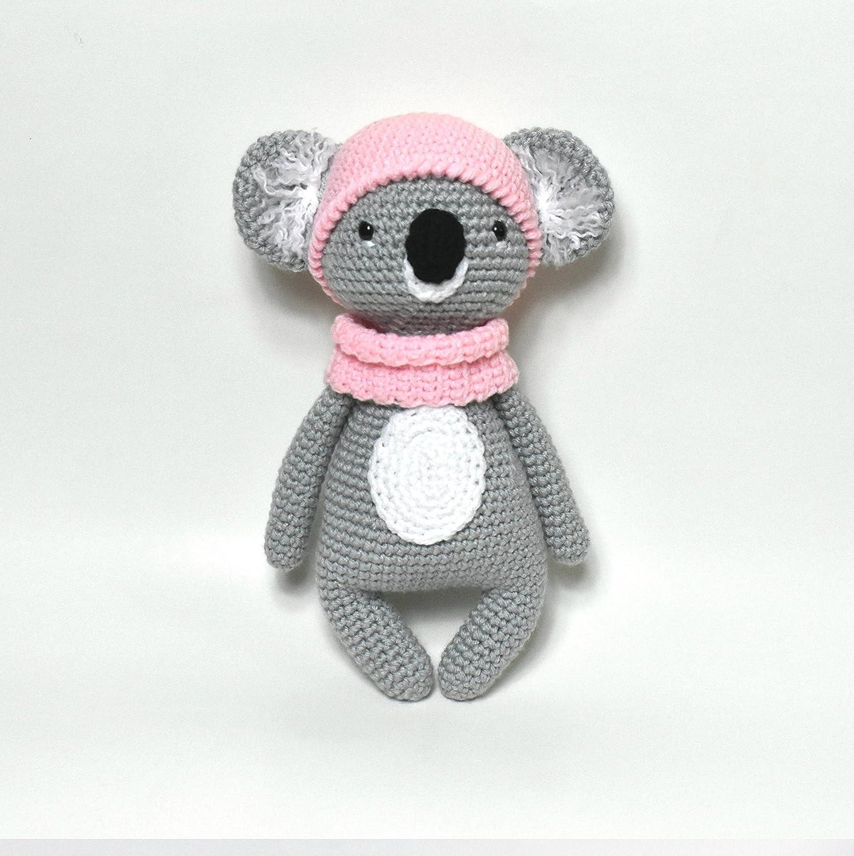 Free Japanese Craft Patterns: Koala Bears Amigurumi Soft Toy Free ... | 1500x1495