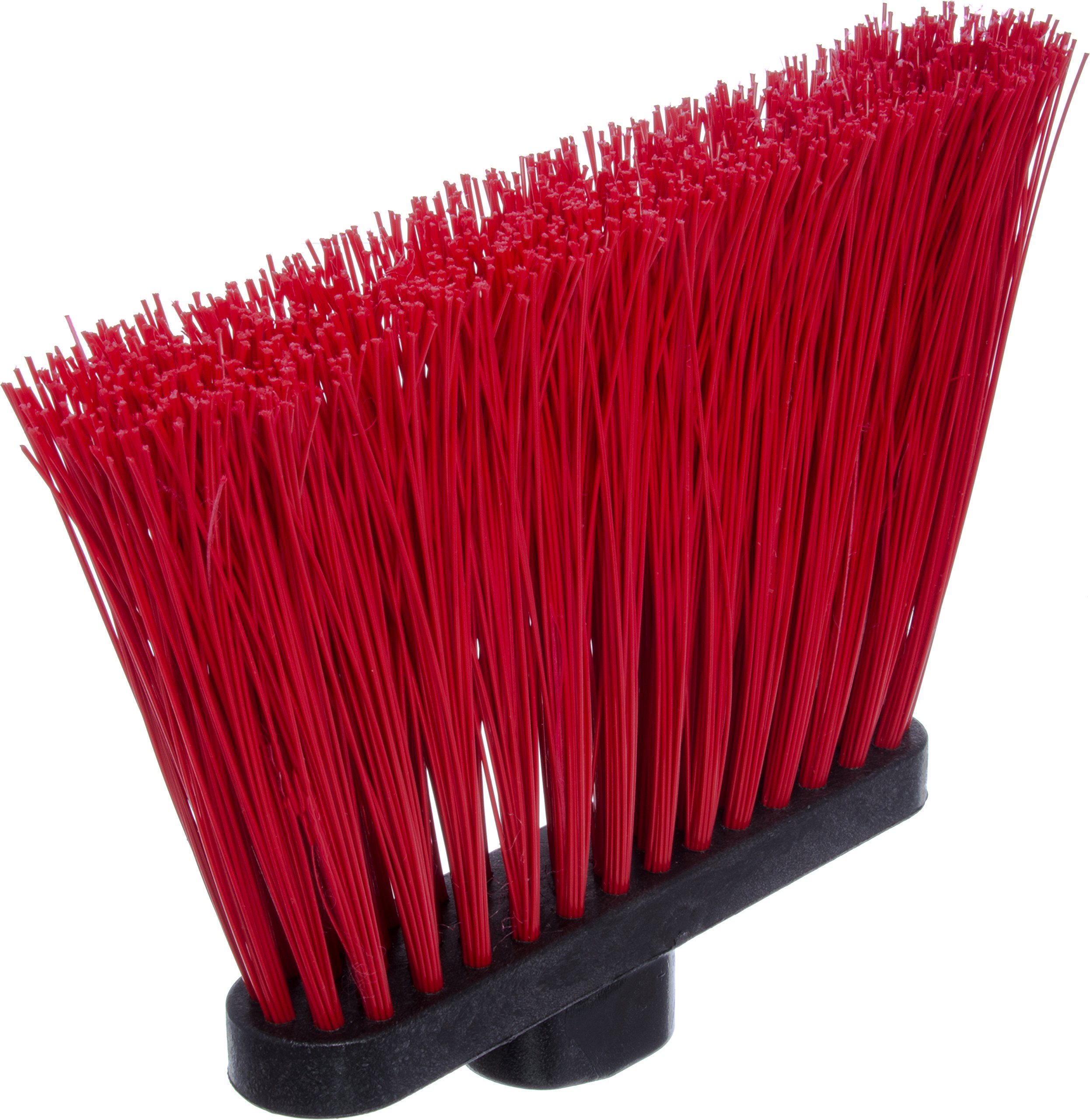 Carlisle 4108305 Sparta Duo-Sweep Unflagged Angle Broom with Fiberglass Handle, 54'' Length, Red (Pack of 12) by Carlisle (Image #4)