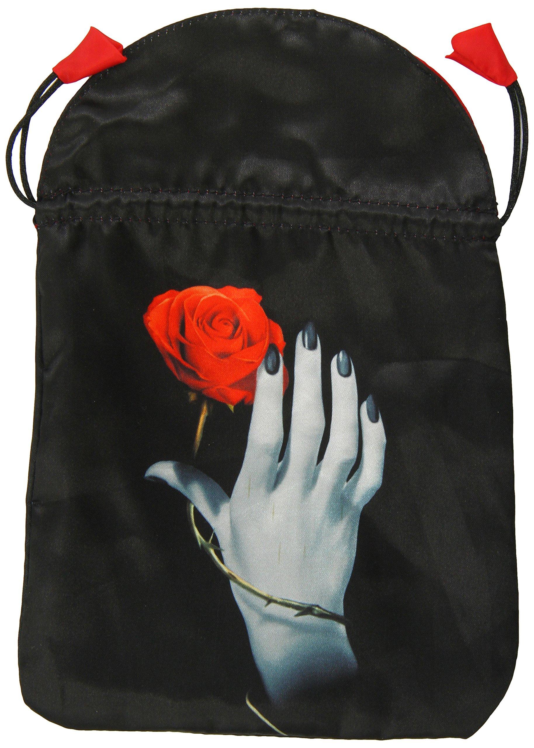 Rose in Hand Satin Tarot Bag pdf epub