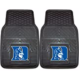Fanmats 12097 Duke University Blue Devils Front Row Vinyl Heavy Duty Car Mat - 2 Piece