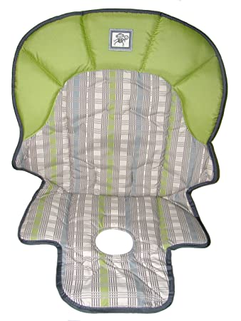 amazon com graco meal time high chair replacement seat pad cover