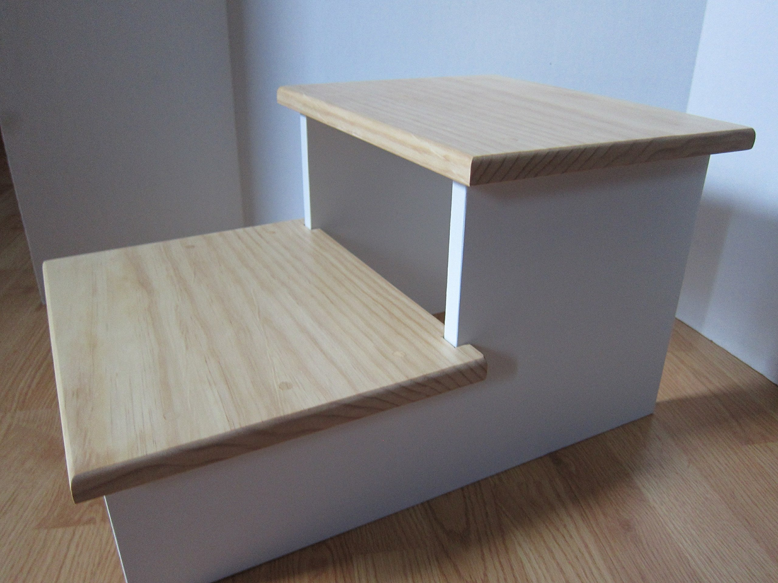 Large Pet Stairs - 18'' Tall, 2 Step