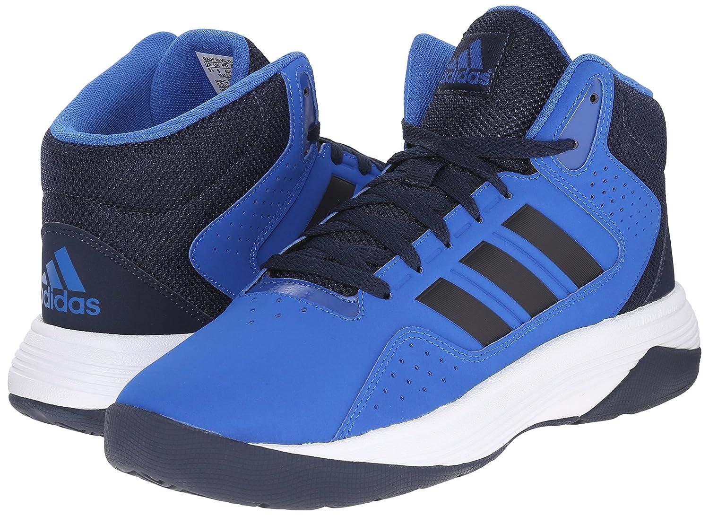 Necesario Fangoso salvar  Buy adidas Performance Men's Cloudfoam Ilation Mid Basketball Shoe,  Blue/Collegiate Navy/White, 6.5 M US at Amazon.in