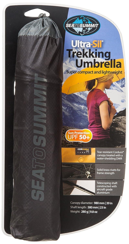 chic Sea To Summit Siliconized Nylon Trekking Umbrella - Black