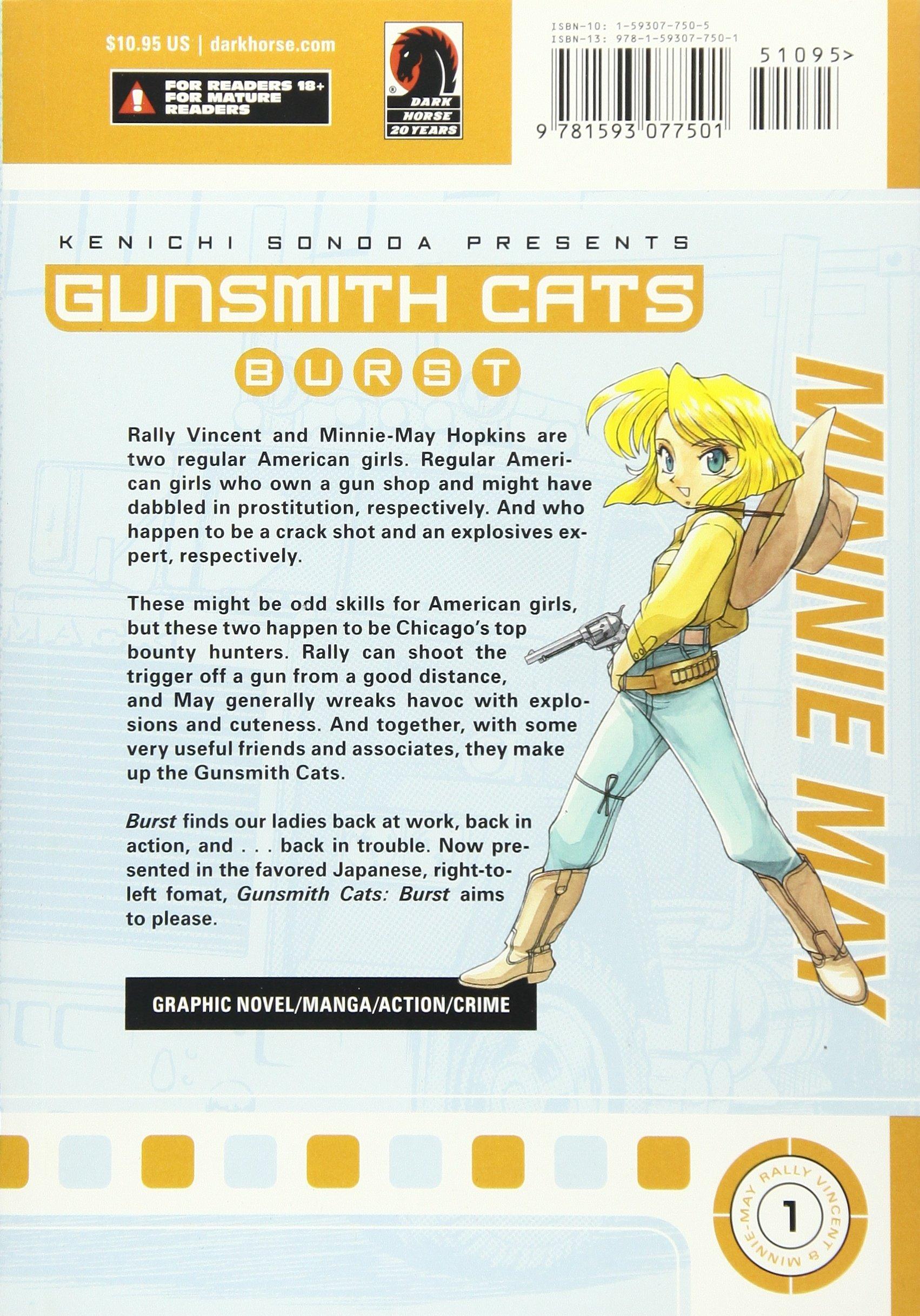 Gunsmith Cats: Burst, Vol. 1 (v. 1): Kenichi Sonoda: 9781593077501 ...