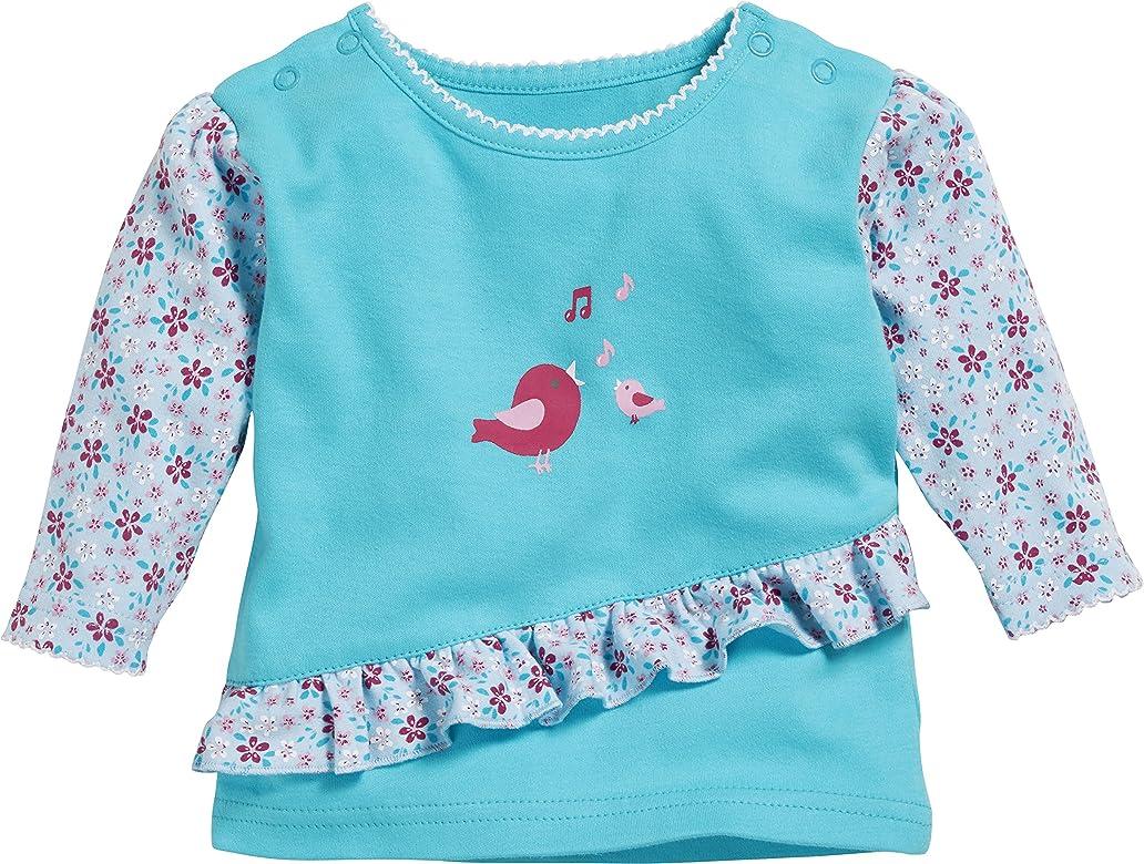 Schnizler Sweat-Shirt Interlock Vögelchen Camisa Manga Larga, Turquesa (Türkis 15), 58 (Talla del Fabricante: 56) para Bebés: Amazon.es: Ropa y accesorios
