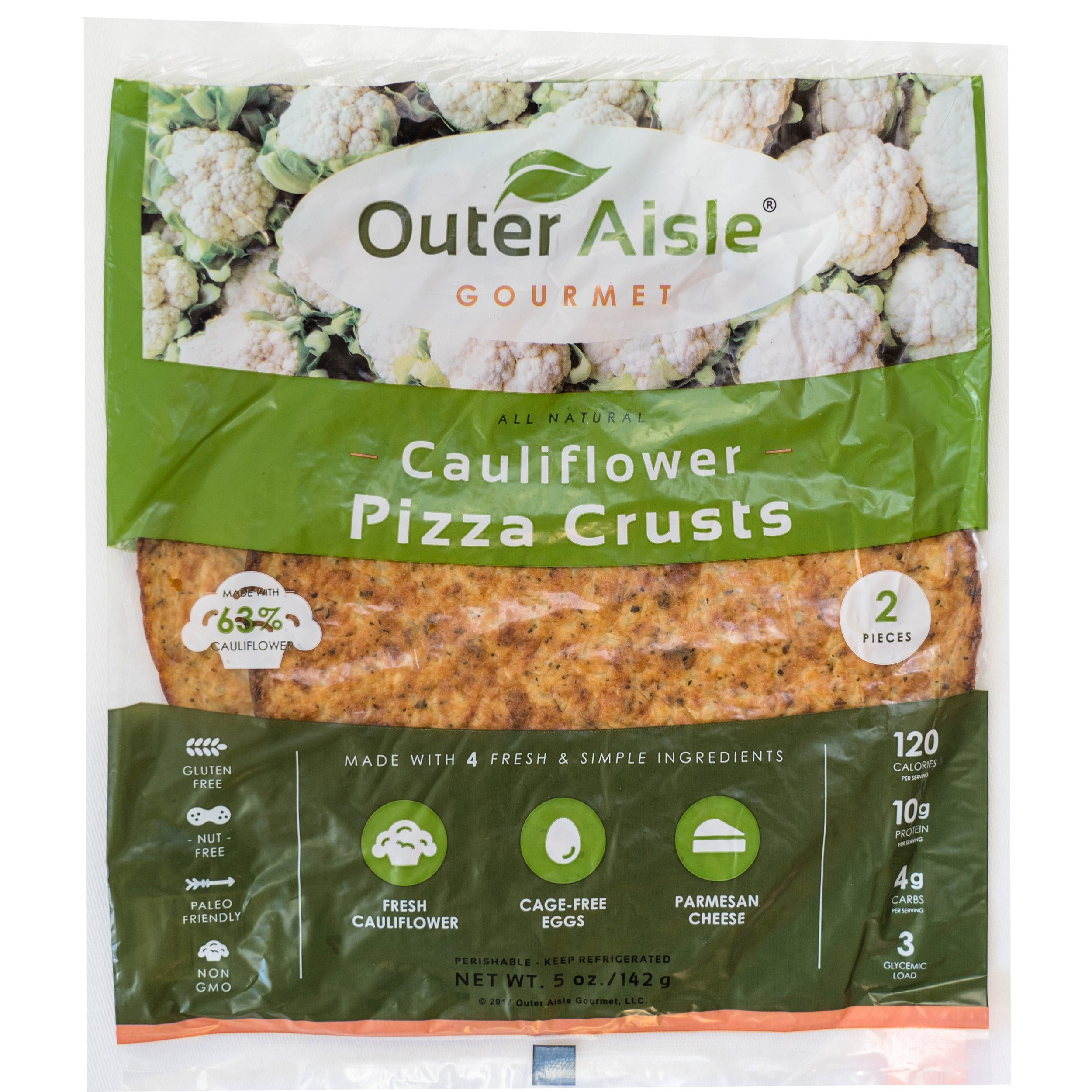 Outer Aisle Gourmet - (24 pieces) Cauliflower Sandwich