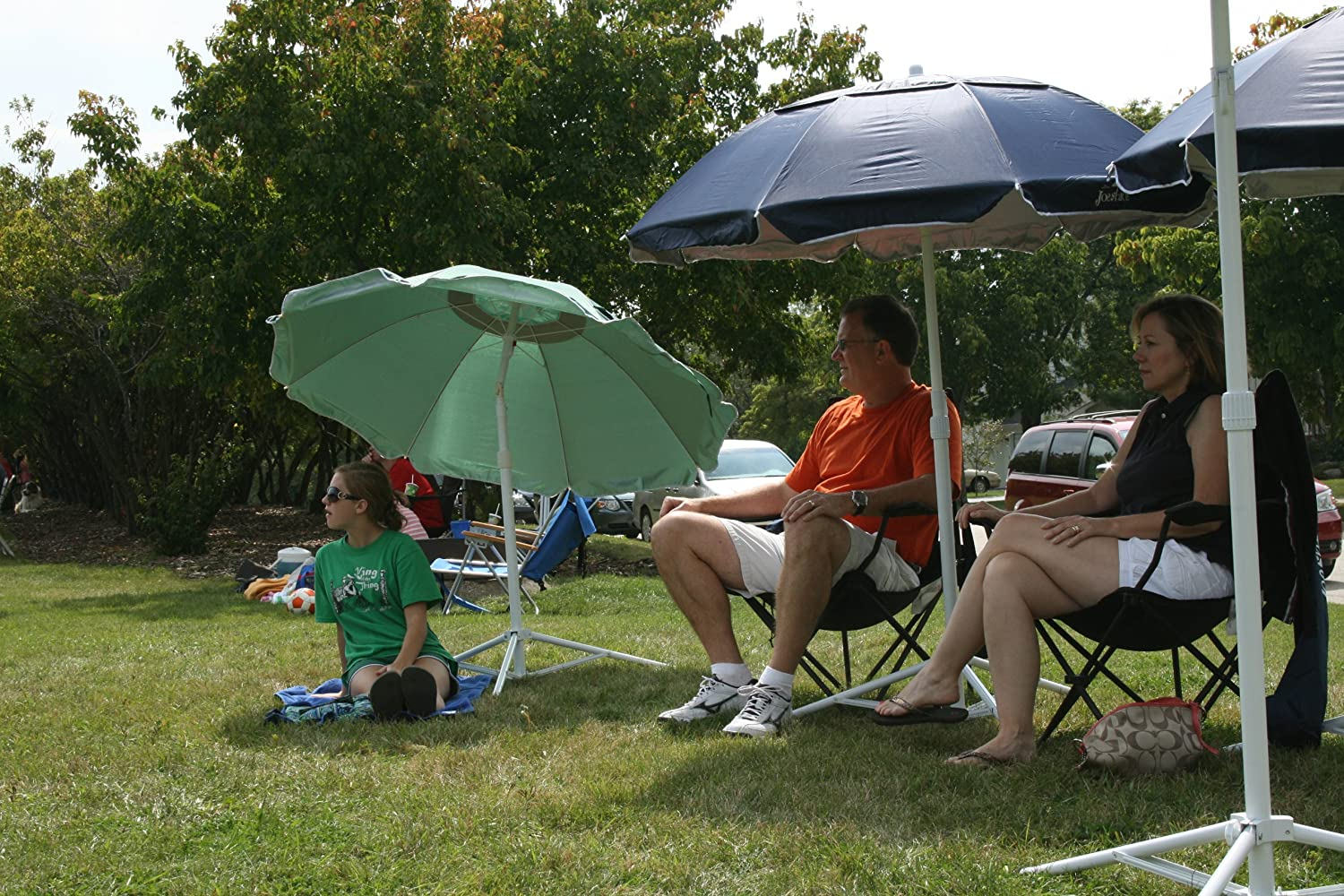 The Original JoeShade JoeShade, Portable Sun Shade Umbrella, Sunshade Umbrella, Sports Umbrella, GREEN