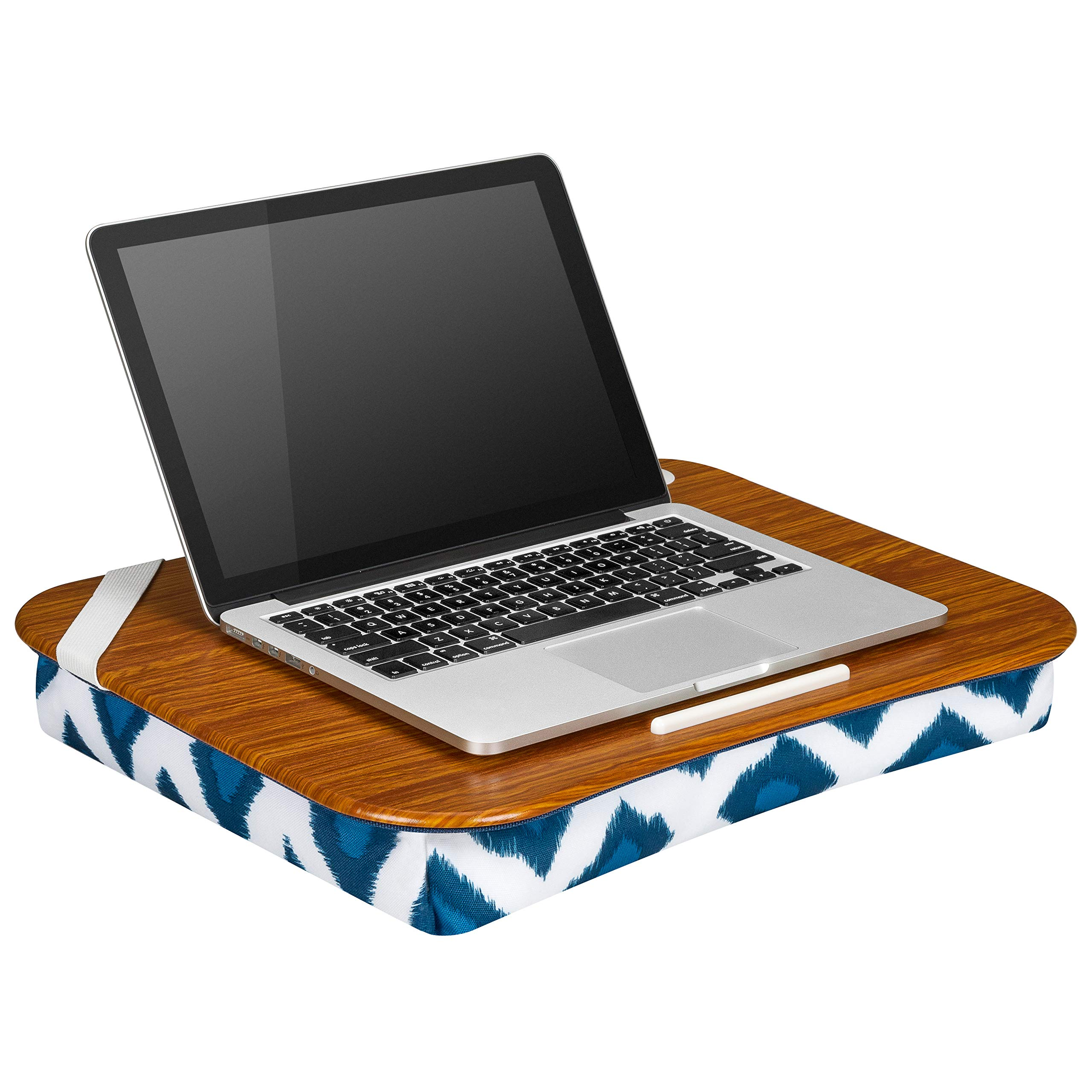 LapGear Designer Lap Desk - Navy Ikat - Style #45523