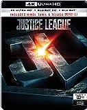 Justice League (Steelbook) (4K UHD + Blu-ray 3D + Blu-ray) (3-Disc)