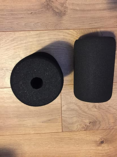 "Ader Foam Roller Pair 6/""x4/""x20mm 2 Pack for Exercise Equipment Part"