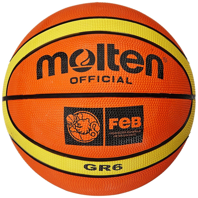 Molten - Ball fü r Basketball-Training, orange/Creme (orange/creme) - 6 105176
