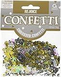 Amscan Rejoice Confettis métalliques Internationaux