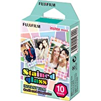 instax mini film, STAINED GLASS Ram, 10 pack