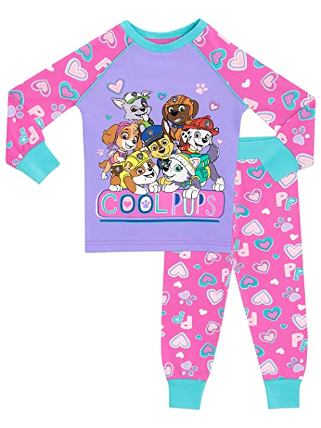 La Patrulla Canina - Pijama para Niñas - Paw Patrol - Ajuste Ceñido - 18 -
