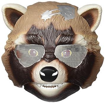 Marvel Guardianes de la Galaxia - Gotg Rocket Raccoon máscara electrónica (Hasbro A8472EU4)