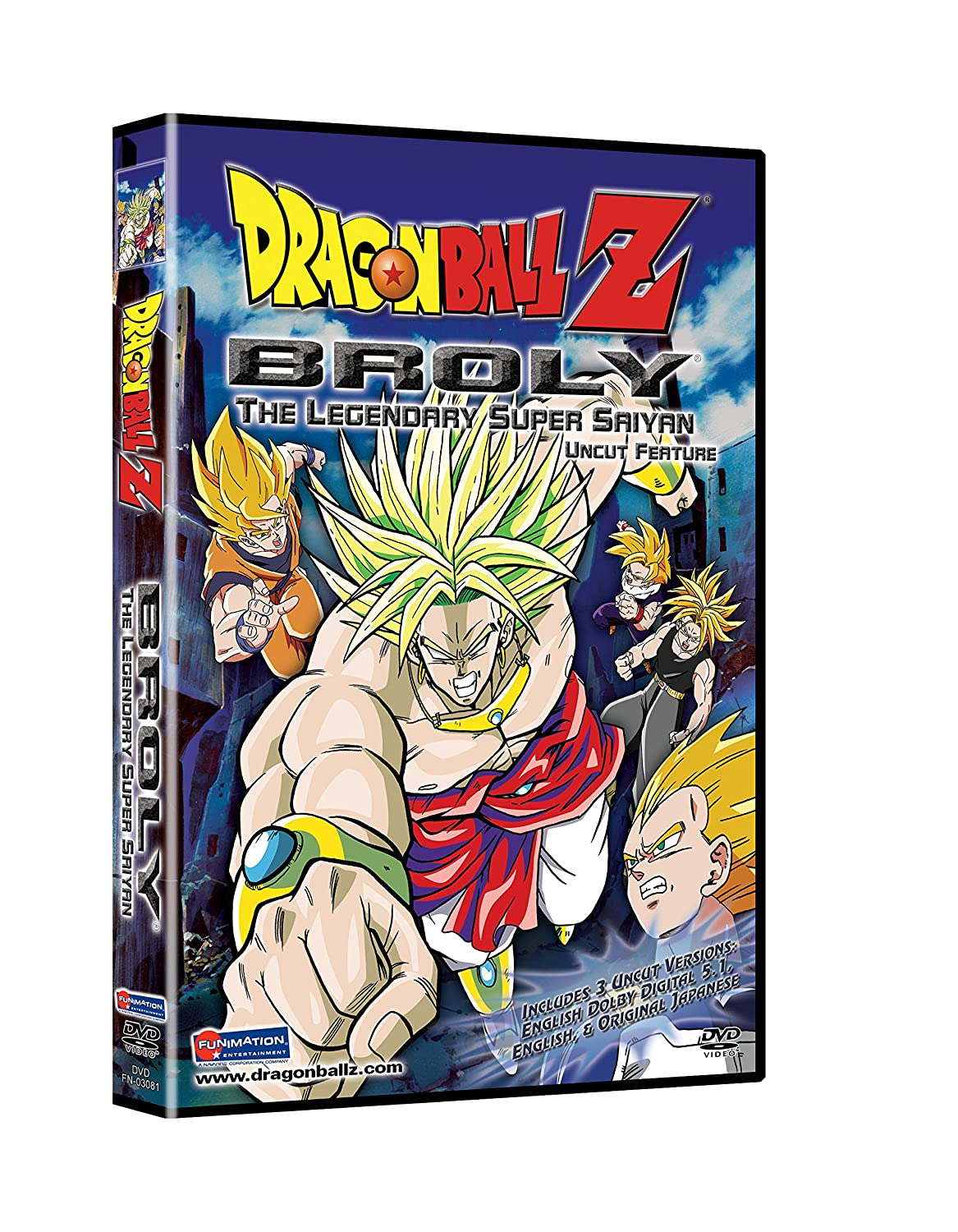 Dragon Ballz:Broly:Legenda Doc Harris Christopher Sabat Sean Schemmel Terry Klassen