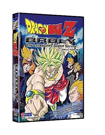 Amazon Com Dragon Ball Z Broly The Legendary Super Saiyan