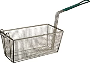 Winco FB-30 Fry Basket with Green Handle