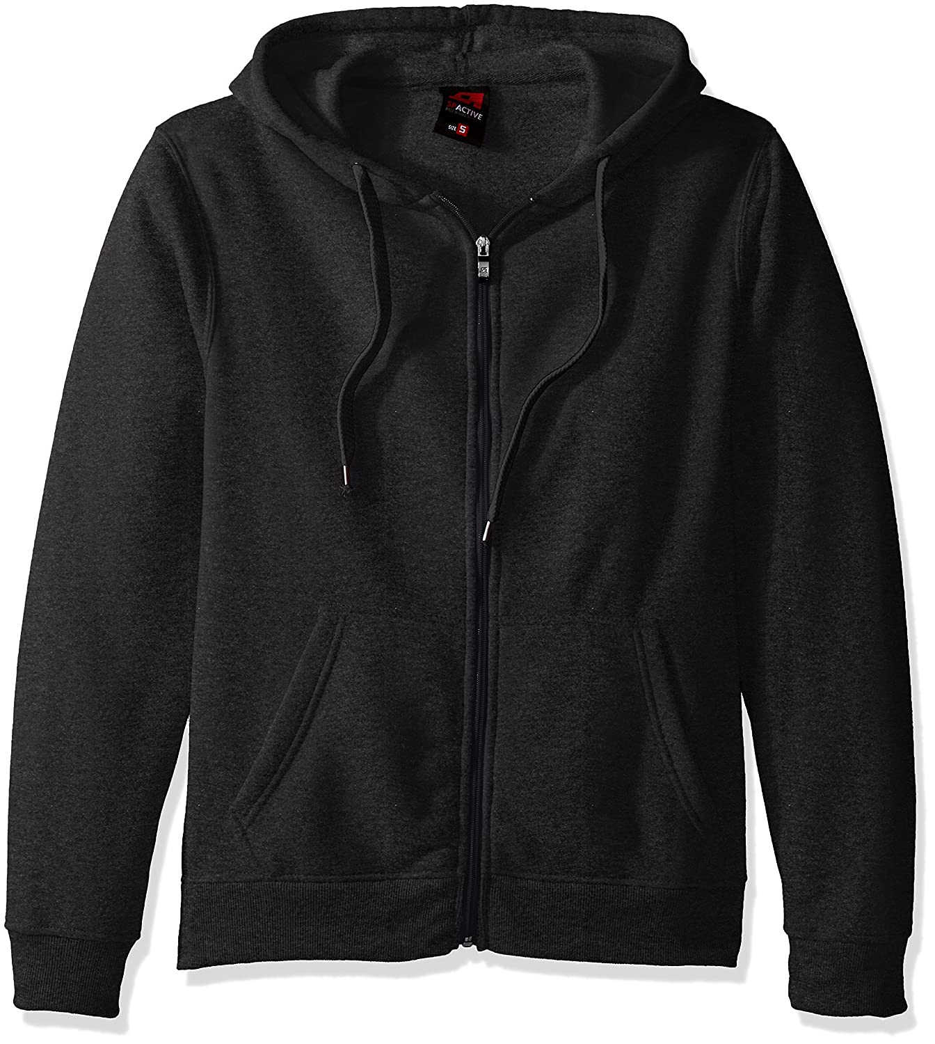 Southpole Mens Active Basic Hooded Full Zip Fleece in Premium Fabric