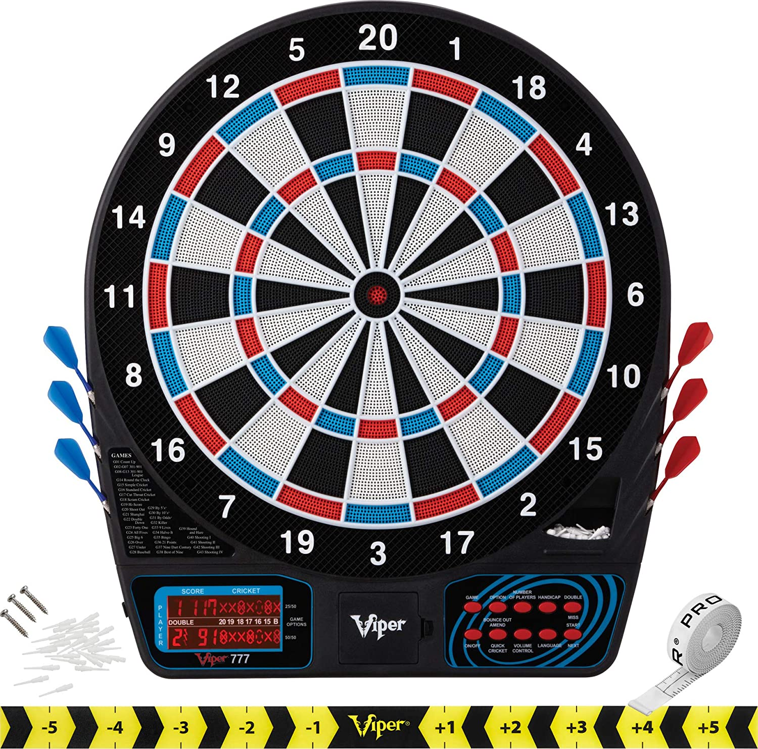 Viper By GLD Products 777 Electronic Dart Board