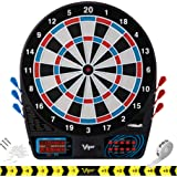 Viper by GLD Products 777 Electronic Dartboard Sport Size Over 40 Games Auto-Scoring LCD Cricket Display Impact-Tough Target