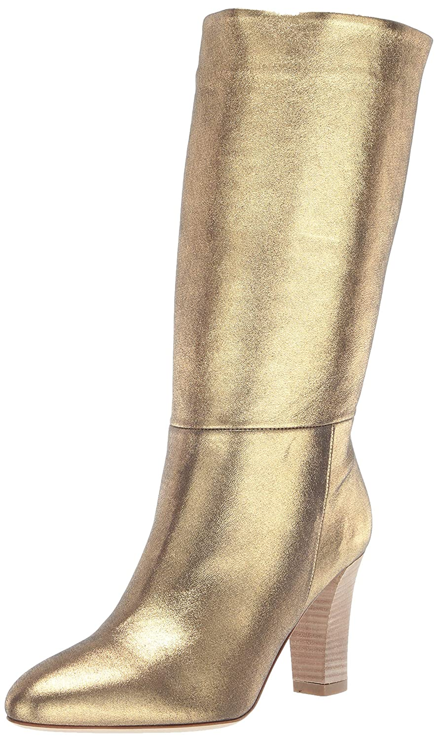 Karat Nappa Leather SJP by Sarah Jessica Parker Womens Reign Almond Toe Mid Calf Boot