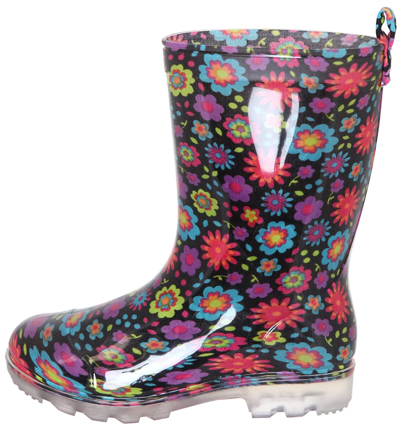Capelli New York Girls Emoticons Printed Jelly Rain Boots RBT-2006K