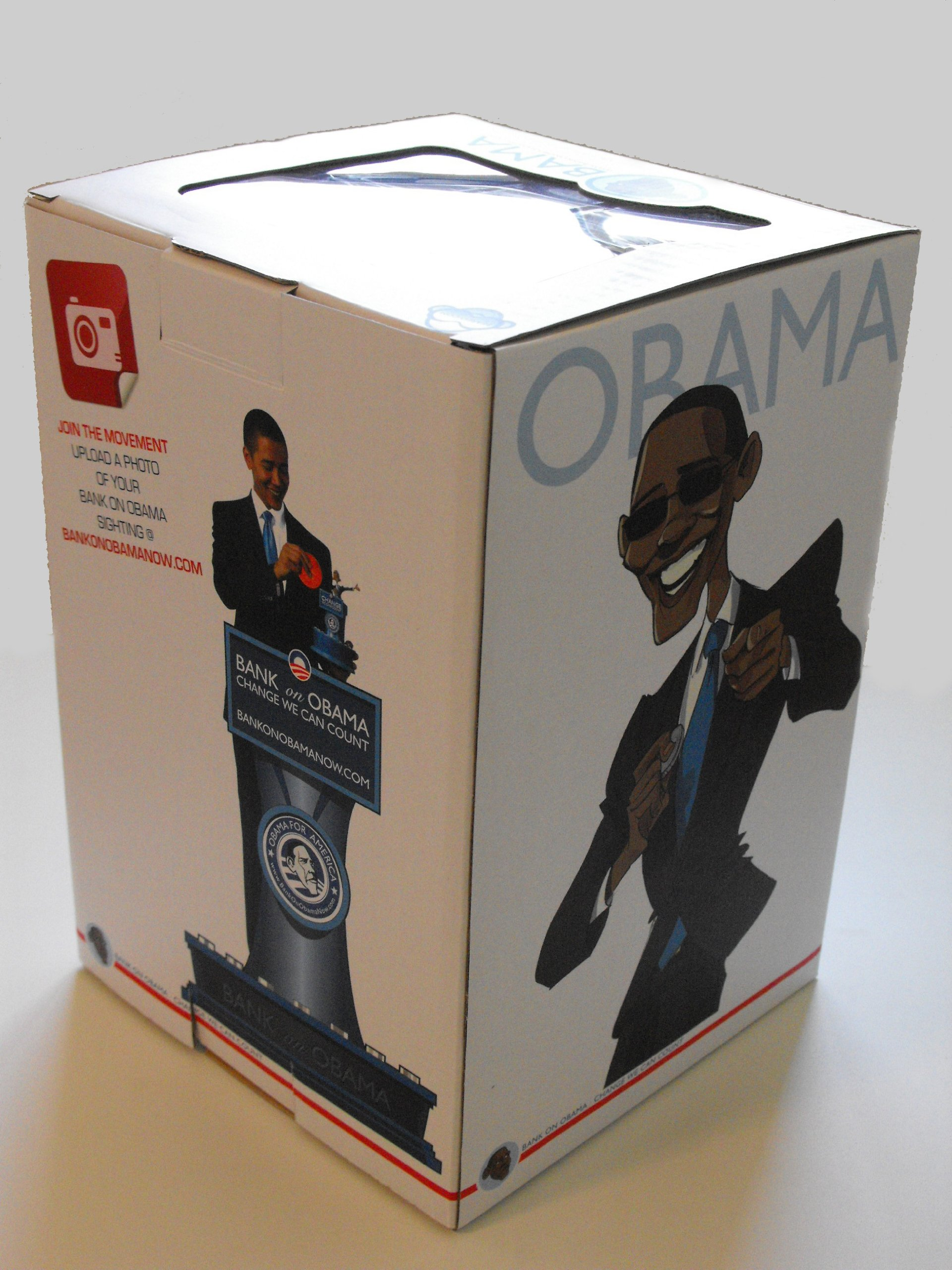 Bank On Obama - Change We Can Count - The Presidential Savings Bank by Beareo (Image #4)