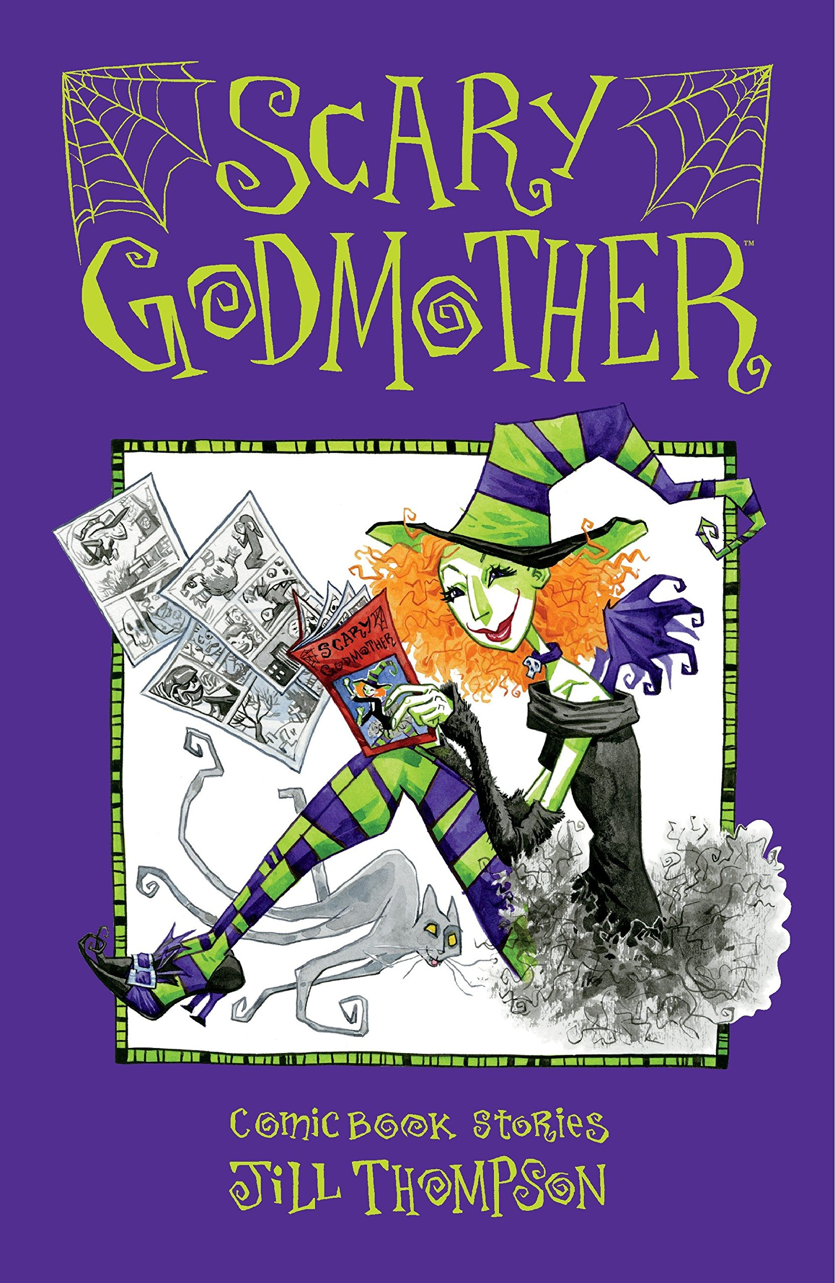 Scary Godmother Comic Book Stories: Amazon.es: Jill Thompson ...