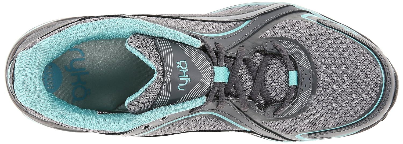 Ryka Women's Sky Walking Shoe B00MF160R4 8 W US|Frost Grey/Aqua Sky/Iron Grey