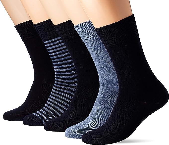 Lacoste Underwear Calcetines, (Pack de 5) para Hombre: Amazon.es ...