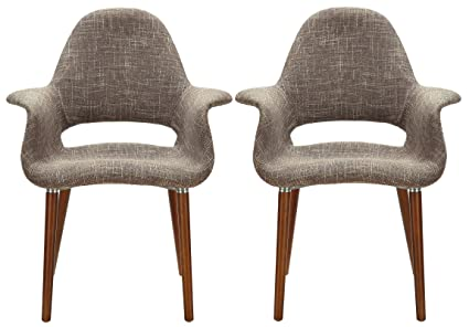 Poly And Bark Barclay Dining Chair In Taupe (Set Of 2)