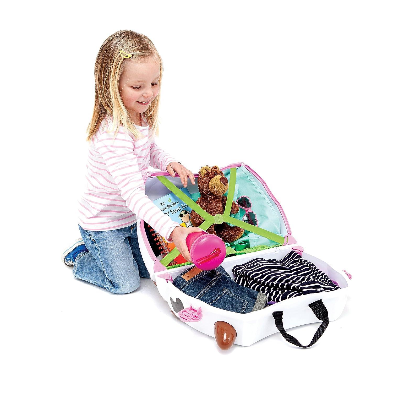 Amazon Trunki The Original Ride Suitcase NEW Frieda